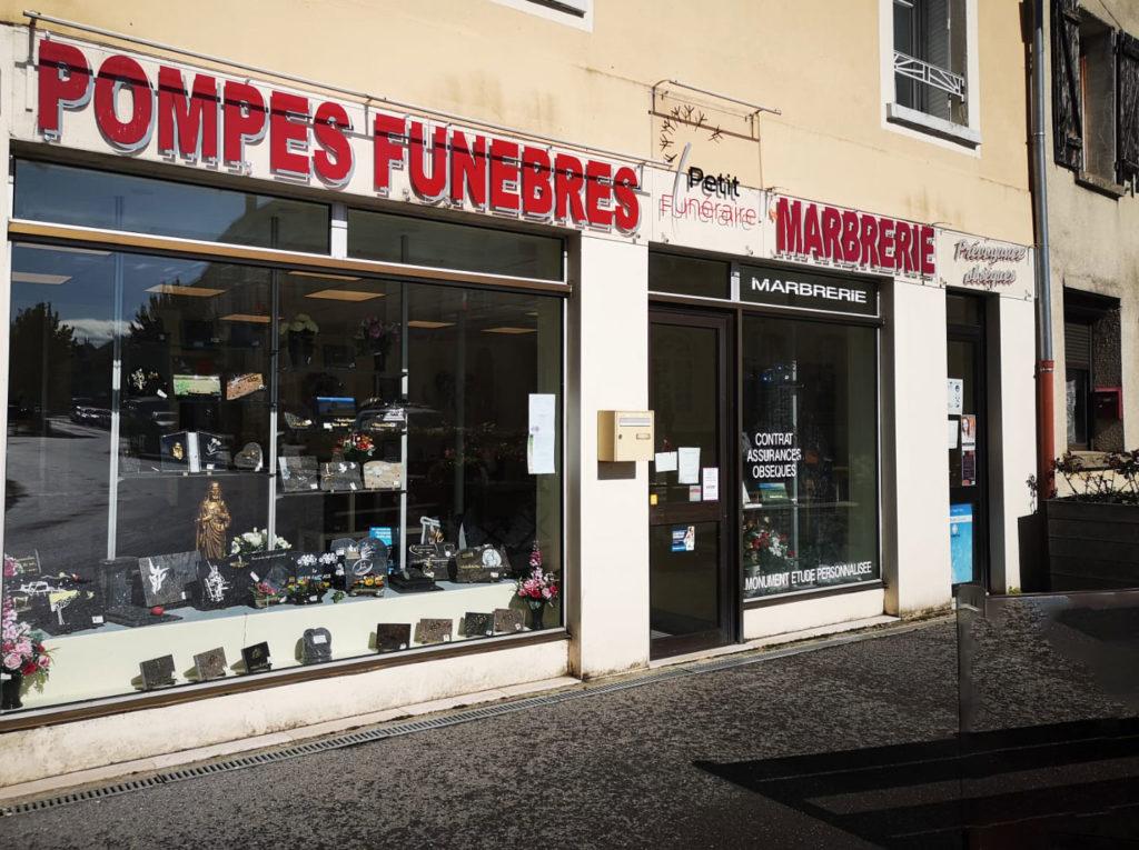 Agence Pompe funèbre petit funéraire by petit Jouarre